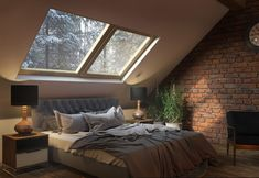 потолочный люк в спальне