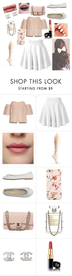 """""""BFF inspired ❤️❤️"""" by loulou-246-xx ❤ liked on Polyvore featuring DIENNEG, Ted Baker, Chanel and Sydney Evan"""