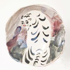 Tiger Plate – Charlotte Mei