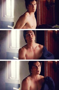 Thank you, Damon, for taking your shirt off.