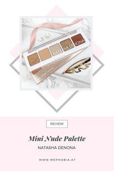 Auf meinem Blog stelle ich euch die Natasha Denona Mini Nude Eyeshadow Palette vor - inkl. Swatches und Tragebilder! Palette, Mini, Nude, Blog, Pallets, Blogging