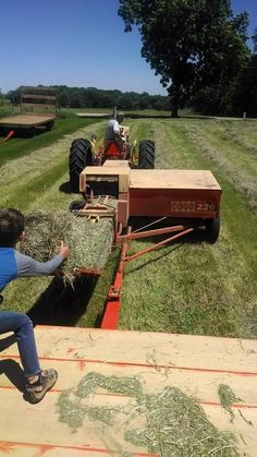 CASE 230 Square Baler. Spent thousands of hrs behind one of these.