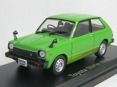 Ikuso 1/43 Scale Toyota Starlet 1300 1978 domestic famous car #Ikuso #Toyota
