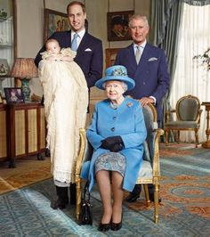 History Made as Queen Elizabeth Photographed with Three Heirs for First Time