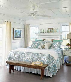 bedroom beach theme