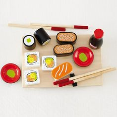 Sushi Set    The Land of Nod for chef Emmie