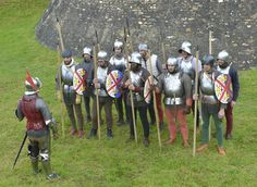 Late 15th century soldiers