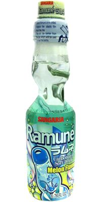 CHECK Sangaria Ramune: Japanese Fruit Soda  Instead of party punch.  I'll be expensive, but buy it in bulk from The Japanese Sage Market.