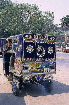 Ricksha Taxi, Lahore, Pakistan