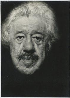 Claude Gafner, Portrait de Michel Simon #Cinéma_théâtre_variété
