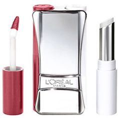 L'Oreal Infallible Never Fail Lipcolor in Grenadine: Another drug-store favorite for a bold red that stays all day and into the night. Just be sure to let the red lacquer dry before applying the balm. It stays longer that way.