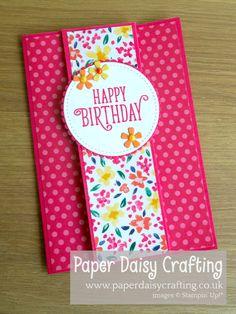Fancy Fold card Stampin' Up! - cardsGarden Impressions Fancy Fold card Stampin' Up! - cardsImpressions Fancy Fold card Stampin' Up! - cardsGarden Impressions Fancy Fold card Stampin' Up! Fancy Fold Cards, Folded Cards, Slider Card, Tarjetas Diy, Funeral Cards, Homemade Birthday Cards, Easy Diy Birthday Cards, Female Birthday Cards, Diy Homemade Cards