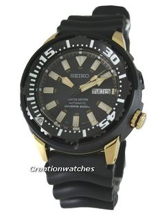 Seiko Automatic Diver Limited Edition SRP234K1 SRP234K SRP234 Mens Watch