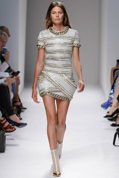 balmain spring 2014 37 5 Stunning Paris Fashion Week Spring/Summer 2014 Trends