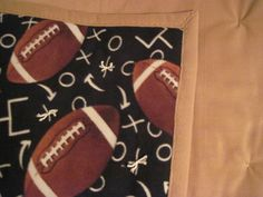 Let's play Foot Ball by JandJblankiesandETC on Etsy