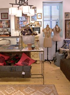 Display inspiration at judies and galleries=love    patch pop up shop, nyc #retail #merchandising #display