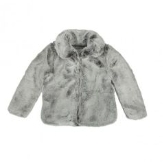 Keep the cold out with this C de C coat! http://www.littlefashiongallery.com/fr/mode-enfant/c-de-c/frigo-girl-coat-grey-c-de-c-h13/