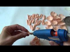 """Мастер-класс """"Как создать цветок пиона из фоамирана"""" - YouTube"""