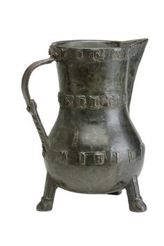 Bronze jug: 14th century. Museum of London, UK. Looking at these vessels from times gone past makes me realize how lucky we are to have the modern conveniences we have today.