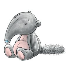 Snuffle... the curious Anteater who has a nose for treats... hide yours and see if he can find them!