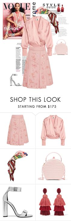 """Totalpink2"" by duchess26 ❤ liked on Polyvore featuring Prada, Topshop Unique, Gucci, Nancy Gonzalez, Tom Ford and Oscar de la Renta"