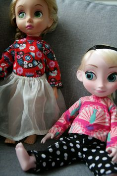 Clothes for animators-dolls.