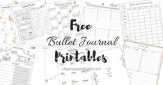 On this page, you will find a collection of girly and elegant FREE bullet journal printables. You may use them on your paper planner or digital planner. Click the link to learn more!