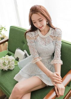 Today's Hot Pick :Lace Peplum Blouse http://fashionstylep.com/SFSELFAA0008135/bapumken1/out High quality Korean fashion direct from our design studio in South Korea! We offer competitive pricing and guaranteed quality products. If you have any questions about sizing feel free to contact us any time and we can provide detailed measurements.