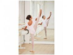 Justaucorps de danse classique manches courtes fille 0c47a0da173