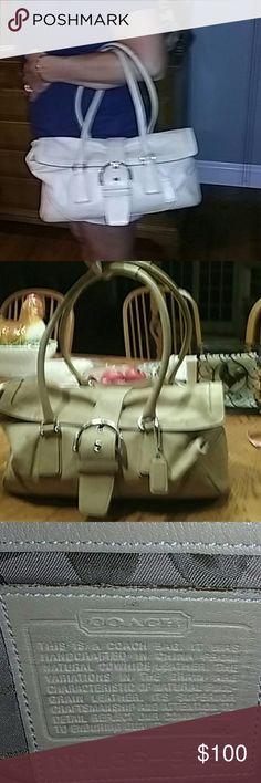 Coach leather bag Handbag good condition clean Coach Bags Satchels