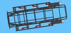 Ripsaw frame rendering  9 Chevrolet Corvette, Corvette Cabrio, Ferrari 348, Porsche 356, Carl Benz, Hors Route, Rc Tank, Weird Cars, Armored Vehicles