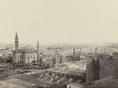 Francis Frith. Cairo, From the Citadel, with the Mosque of Sultan Hussan. c. 1860