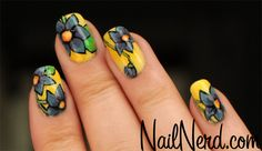 Blooming Spring Nails - Spring is in the air!