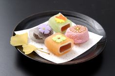 Japanese Sweets, autumn wagashi