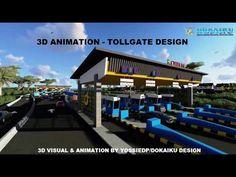 3D ANIMATION -  CIAWI TOLLGATE DESIGN