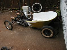 The Bucket Soapbox car rebuild | After lingering in the weed… | Flickr