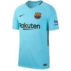 Nike Men's Barcelona 17/18 Away Jersey Polarized Blue/Deep Royal Blue
