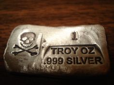 Skull and Bones Ingot Bar