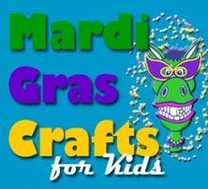 Crafts for Kids - Mardi Gras Crafts Mardi Gras Beads, Mardi Gras Party, Projects For Kids, Crafts For Kids, Diy Crafts, Mardi Gras Activities, Kindergarten Blogs, Dance Themes, Thinking Day