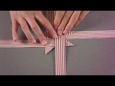 KreativPLUS Itzehoe Faltanleitung: Fröbelstern basteln - YouTube