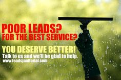#cleaning leads | LeadsJanitorial