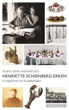 Henriette Schønberg Erkens Store kokebok fra 1914 er et monumentalt verk av internasjonalt format med oppskrifter fra gåseleverbrioche til fårikål. Fram til 1951 var den kommet i 20 utgaver og over 200 000 solgte eksemplarer.   Med utgangspunkt i oppskriftene forteller Maria Reinertsen historien om hennes liv, men også om en samfunnsutvikling og jakten på de riktige ingrediensene Bergen, Maine, Drinking, Movies, Movie Posters, Inspiration, Food, Drinks, Films