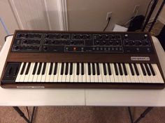 MATRIXSYNTH: Sequential Circuits Prophet 5 Synthesizer Rev 2 SN...