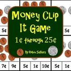 Great math center to use with coin recognition, coin values, and addition skills--Practice matching the correct cent value on each card
