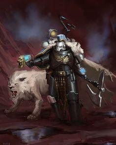 Warhammer 40k Art, Warhammer Fantasy, Warhammer Deathwatch, John Stones, Angel Of Death, Space Marine, Fantasy Artwork, Stone Art, Lions