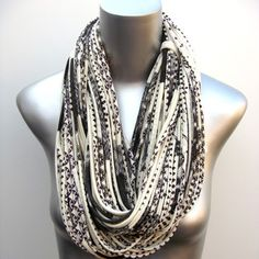 I would call this a skein of yarn made from t-shirts - - they call it jewelry!