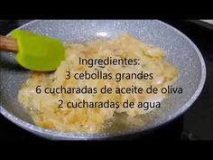 Como hacer cebolla caramelizada sin azúcar - La cocina de Pedro y Yolanda