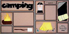 Scrapbooking.com -- Scrapbooking.com -- Layout - Camping by Paula ...