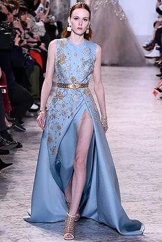 esa-hc-ss17-205-654x980 Paris Fashion, Runway Fashion, Fashion News, Fashion Show, Haute Couture Paris, Elie Saab Spring, Fantasy Dress, Modern Outfits, Couture Collection
