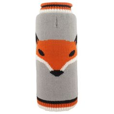Size: XX-SmallThis sweater is a cute and cozy way to stay warm this season in the Worthy Dog Foxy Dog Sweater in Gray! Fox on gray sweater Leash hole for attach Roll Neck Sweater, Grey Sweater, Double Knitting, Hand Knitting, Pet Sweaters, Reindeer Sweater, Pet Paws, Dog Accessories, Knitting Designs